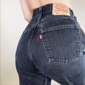 Levi's Vintage 501 Black Jean   Size 29/Modern 26
